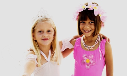 Mani-Pedi for 1 or 2 or VIP Pink & White Spa Party for 7 Girls at Spoiled Rotten Kids Spa & Boutique (Up to 49% Off)