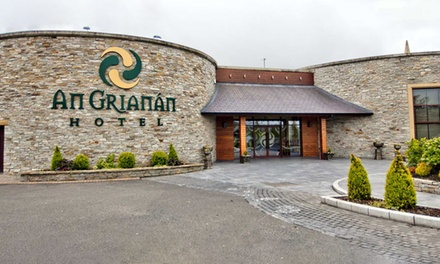 Co. Donegal: 1 or 2 Nights for Two with Breakfast and Old Church Visitors Centre Entry at An Grianan Hotel
