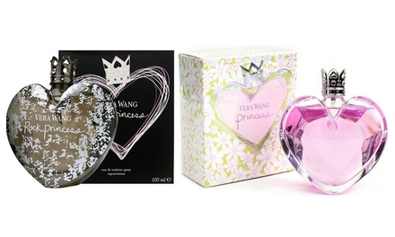 One or Two Bottles of Vera Wang Rock Princess or Flower Princess 100ml Eau de Toilette Sprays for Women