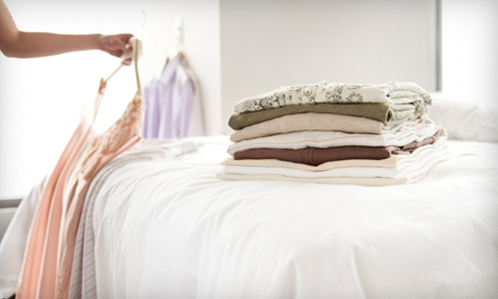 EZ-Way Cleaners - Multiple Locations: Dry Cleaning or Wedding-Gown Preservation at EZ-Way Cleaners (Up to 51% Off). Three Options Available.