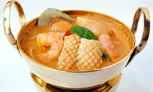 Siam Nara Thai Cuisine: Thai Food at Siam Nara Thai Cuisine (Up to 45% Off). Three Options Available.