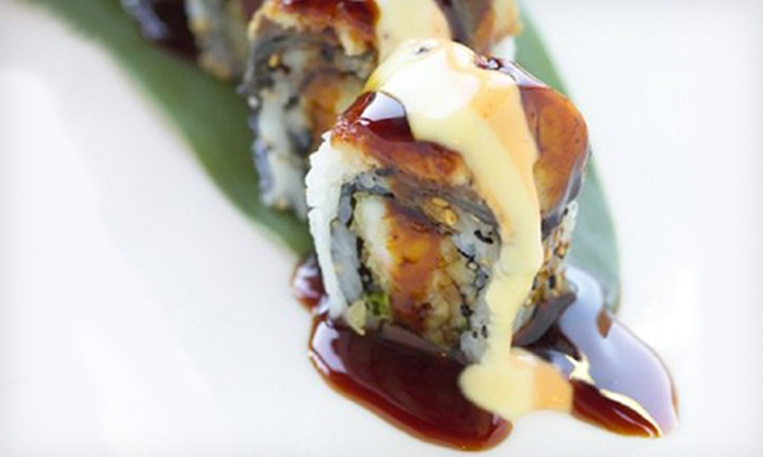 Kiku Bistro - Uptown: $25 for $45 Worth of Sushi and Pan-Asian Cuisine at Kiku Bistro