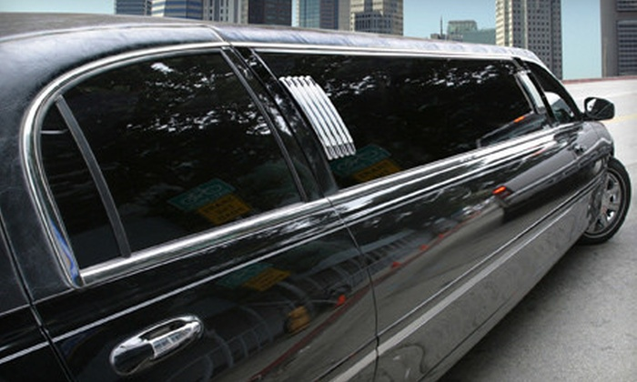 G & A Limousine Service - Multiple Locations: Four- or Six-Hour Limo Experience with a Full Bar for Up to Eight People from G&A Limousine Service (Up to 57% Off)