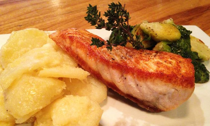 King's Oak - Northern Liberties -  Fishtown: Upscale Pub Cuisine at King's Oak (Up to 50% Off). Two Options Available.