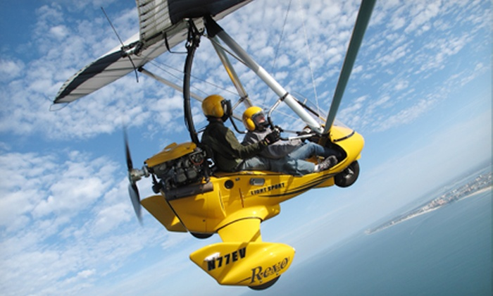Sky Surfing - Clearwater: $129 for a Hands-On Ultralight Flight from Sky Surfing ($260 Value)