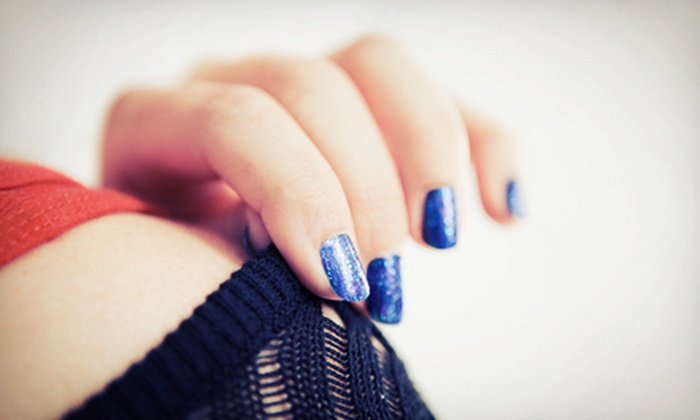 ZeeAna at Lomantini - Uptown: One or Three Gel Manicures from ZeeAna at Lomantini (Up to 52% Off)