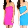 2-Pack of Tube Slip Dresses