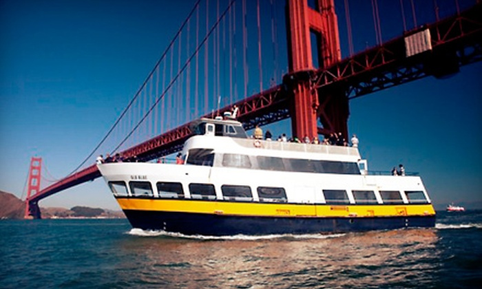 Blue & Gold Fleet - The Embarcadero at Beach Street: One-Hour San Francisco Bay Cruise for Two or Four from Blue & Gold Fleet (Up to 52% Off)