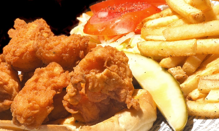 Lue'isiana Po Boys - Original Town: $11 for $22 Worth of Cajun and Creole Food at Lue'isiana Po Boys