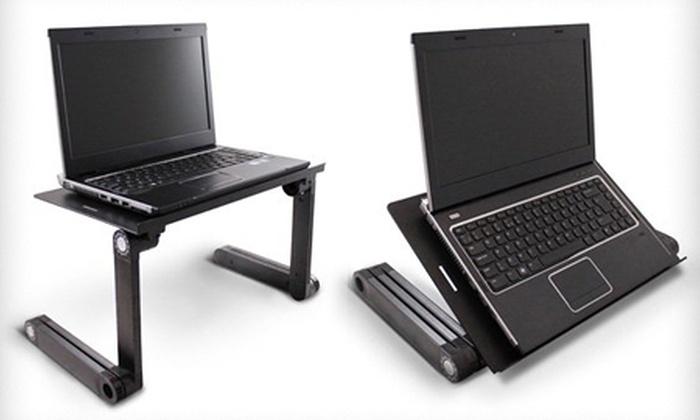 Mesa de ordenador port til groupon goods - Mesa portatil ordenador ...