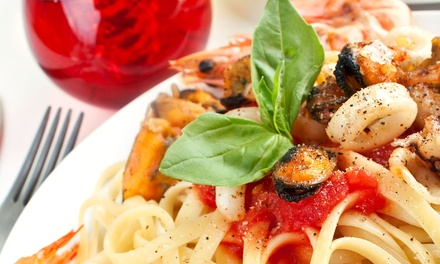 Italian Dinner for Two or Four or Lunch at Enzo's (Up to 50% Off)