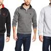 Beverly Hills Polo Club Men's Fleece Quarter-Zip Sweatshirt