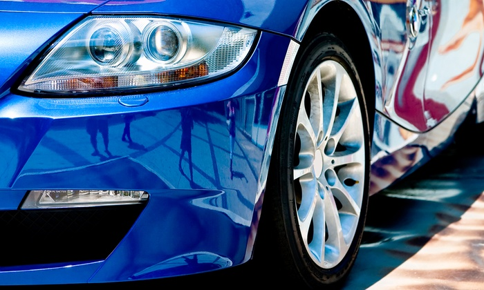 Centereach Hand Wash & Detail Center - Centereach: One or Three Rain-X Super Washes or Teflon Express Waxes at Centereach Hand Wash & Detail Center (Up to 61% Off)