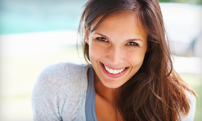 Cosmetic & Implant Dentistry of Maryland - Pikesville: Dental Exam, Cleaning, and X-rays or Zoom! Teeth Whitening at Cosmetic & Implant Dentistry of Maryland (Up to 77% Off)