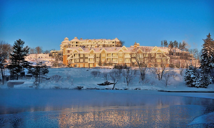 JW Marriott The Rosseau Muskoka Resort & Spa - Minett, ON: One- or Two-Night Stay with C$100 Resort Credit at JW Marriott The Rosseau Muskoka Resort & Spa in Ontario