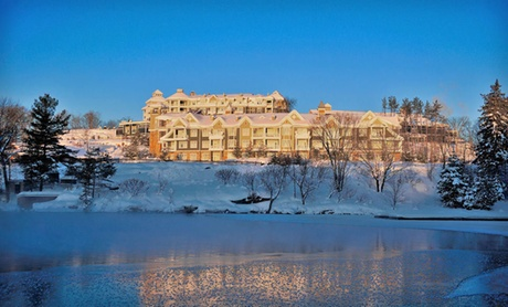 4.5-Star JW Marriott Spa Getaway on Lake Rosseau