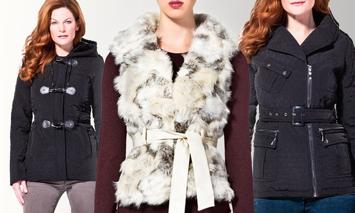 Blanc Noir Women's Jackets: Blanc Noir Women's Jackets (Up to 74% Off). Multiple Styles and Sizes Available. Free Shipping and Free Returns.