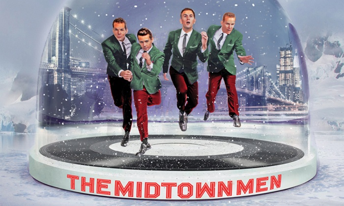 The Midtown Men: Holiday Hits - Barracks Road: The Midtown Men: Holiday Hits at John Paul Jones Arena on December 15 at 7 p.m. (Up to 52% Off)