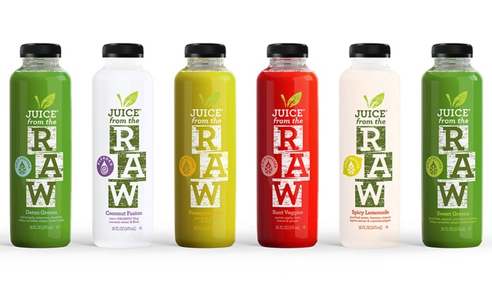 Juice from the Raw: Three-Day Cold-Pressed Juice Cleanse for One or Two People from Juice in the Raw (Up to 59% Off)