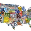 Die-Cut USA-Shaped Puzzles