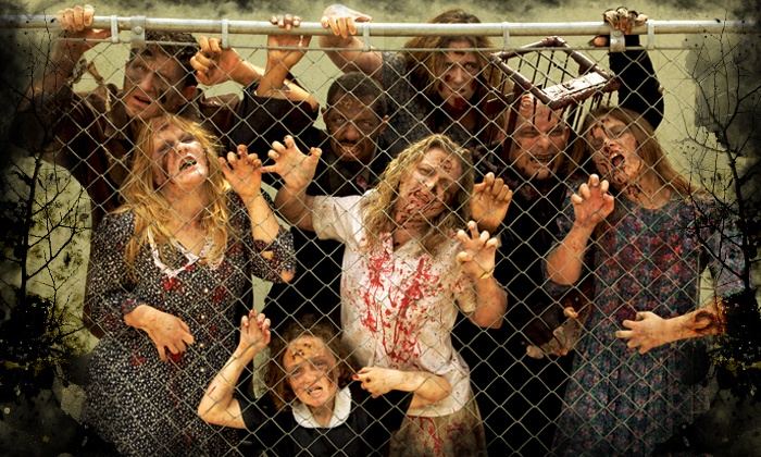 Zombie Manor - Southwest Arlington: Two Fast-Pass Tickets to Zombie Manor (Up to 36% Off). 12 Dates Available.