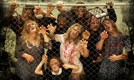 Two Fast-Pass Tickets to Zombie Manor (Up to 36% Off). 12 Date Available.