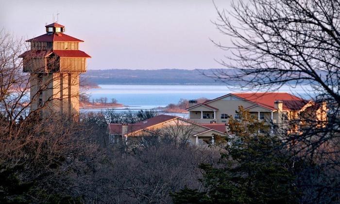 Tanglewood Resort - Pottsboro, TX: One-Night Stay with Dining Credit at Tanglewood Resort in Pottsboro, TX