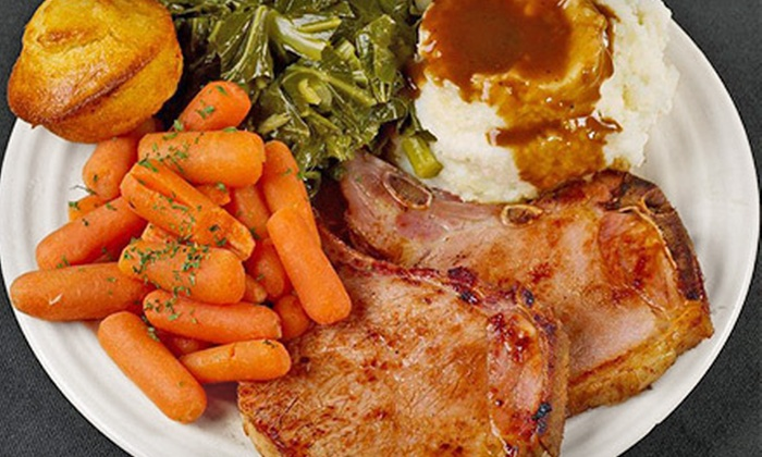 The Moose Cafe - Piedmont Triad Farmers Market - Colfax: $8 for $16 Worth of Farm-to-Table Comfort Foods and Drinks for Two at The Moose Cafe
