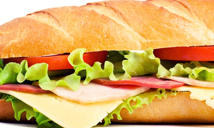 Starship Restaurant & Catering - Forest Park: Large Party Sub or $20 for $40 Toward Catering from Starship Restaurant & Catering (Half Off)