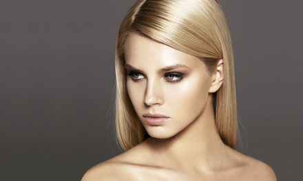 Haircut, Wash, and Style with Optional Color or Highlights at Heavenly Hair By Shannon (Up to 50% Off)