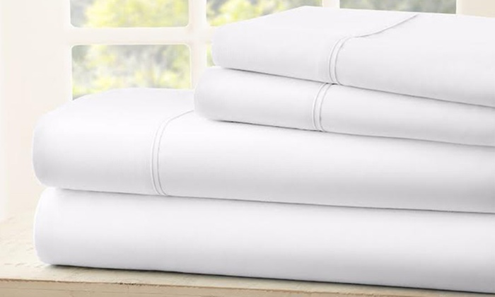 1800 Tc Egyptian Cotton Sheets Royal Bliss Linens Groupon
