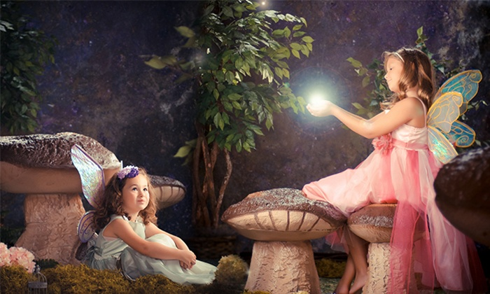 "Cilento Photography - The Shops at Deerfield Square: $49 for a Fairy Portrait Session, 8x10"" print and Digital Image at Cilento Photography (71% Off)"