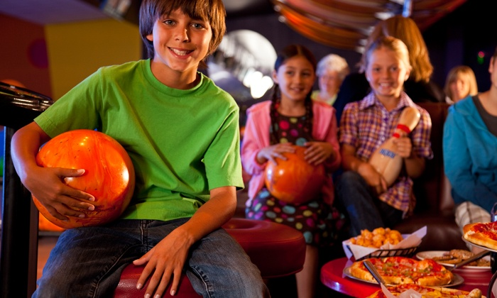 AMF Bowling Centers - Multiple Locations: Two Hours of Bowling and Shoe Rental for Two, Four, or Six at AMF Bowling Co. (Up to 42% Off)