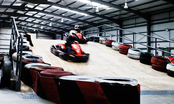 The Zone Extreme Activity Centre - Co.Meath: 15-Minute Karting Experience for Up to Four at The Zone Extreme Activity Centre (Up to 55% Off)