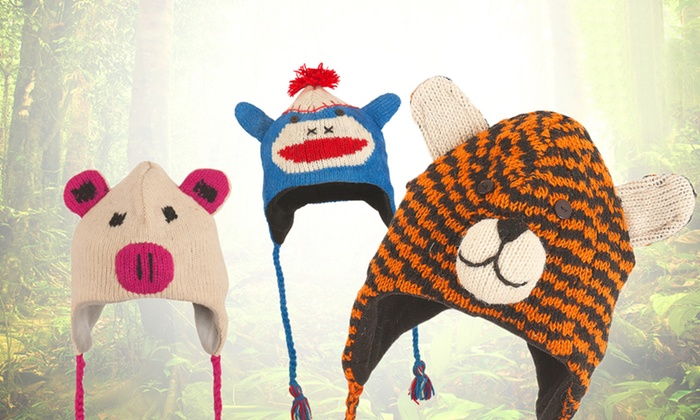 Kids' Animal Hats: Kids' Animal Hats. Multiple Styles Available. Free Returns.