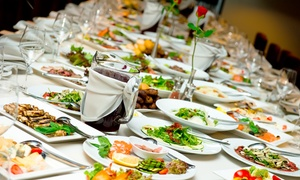 White Horse Lodge - Hotel & Restaurant: Three-Course International Lunch or Dinner Buffet for Up to 10 People at White Horse Lodge