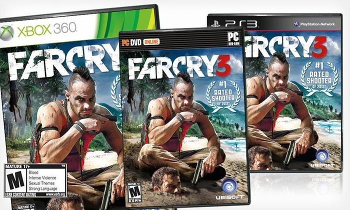 """Far Cry 3"" for PS3, Xbox 360, or PC: ""Far Cry 3"" for PS3, Xbox 360, or PC (Up to 40% Off). Free Shipping and Free Returns."