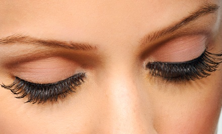 Set of Lash Extensions at Glamour Eyes Studio (Up to 64% Off). Two Options Available.