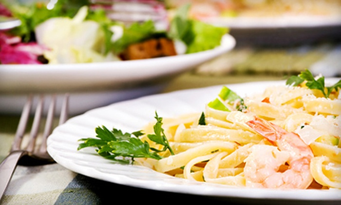 That's Amore Restaurant - Northeast Tampa: Italian Dinner Cuisine at That's Amore Restaurant (Half Off). Two Options Available.