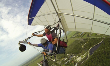 $76 for a Tandem Hang-Gliding Flight Package at The Florida Ridge Air Sports Park ($184 Value)