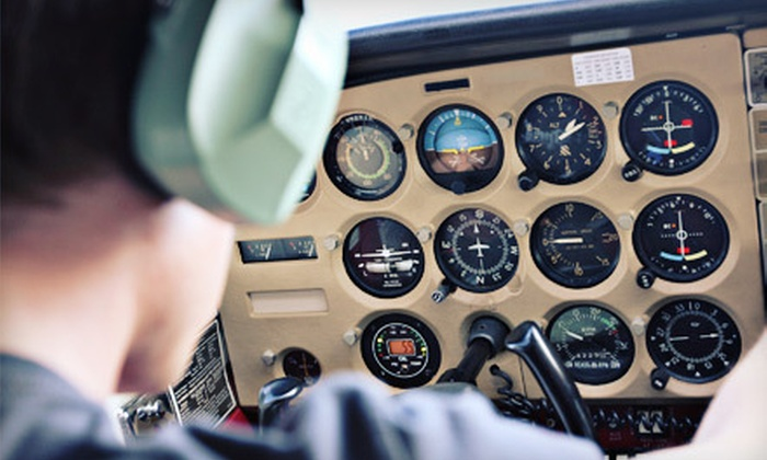 Inflight Pilot Training - Inflight Pilot Training: 30- or 60-Minute Discovery Flight Experience from Inflight Pilot Training in Eden Prairie (Up to 53% Off)