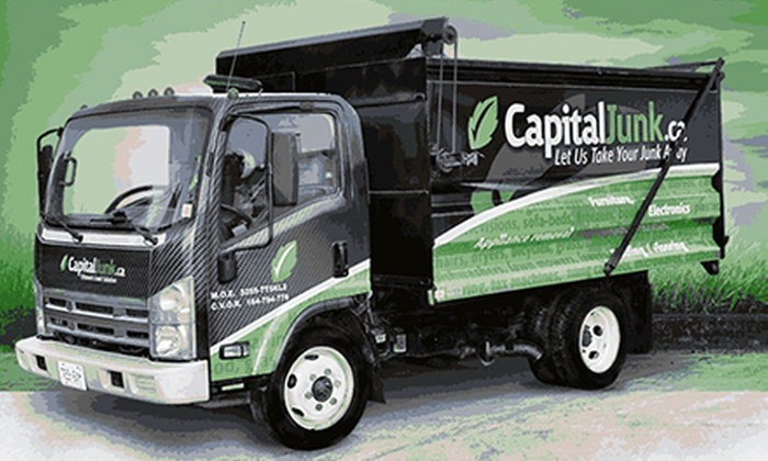Capital Junk - Munster Hamlet - Richmond: 1/4 Truckload or 1/2 Truckload of Full-Service Junk Removal from CapitalJunk.ca (Up to 61% Off)