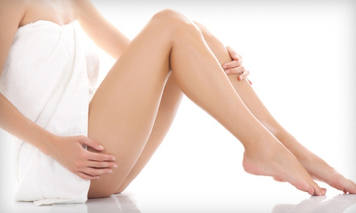 Enhance Skin & Body - Tulsa: Three Laser Hair-Removal Sessions on a Small, Medium, or Large Area at Enhance Skin & Body (Up to 87% Off)