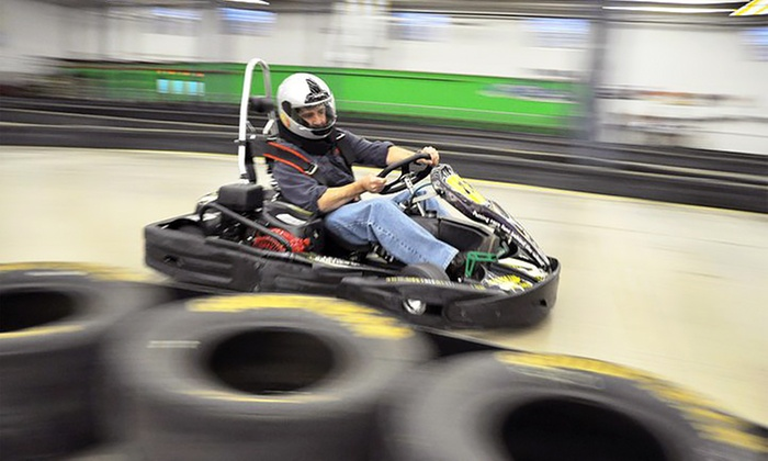 The Pit - Mooresville: $17 for One Go-Kart Race and a One-Year Membership at The Pit ($35 Value)