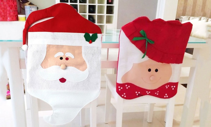 BeeCool: Christmas Chair Cover in Choice of Style from AED 59 (Up to 78% Off)