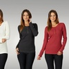 Women's Thermal Henley 2-Pack