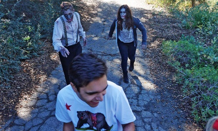 Race Entry to the Claremont Zombie Run on May 3 with Optional Taco Plate and Beer (Up to 47% Off)