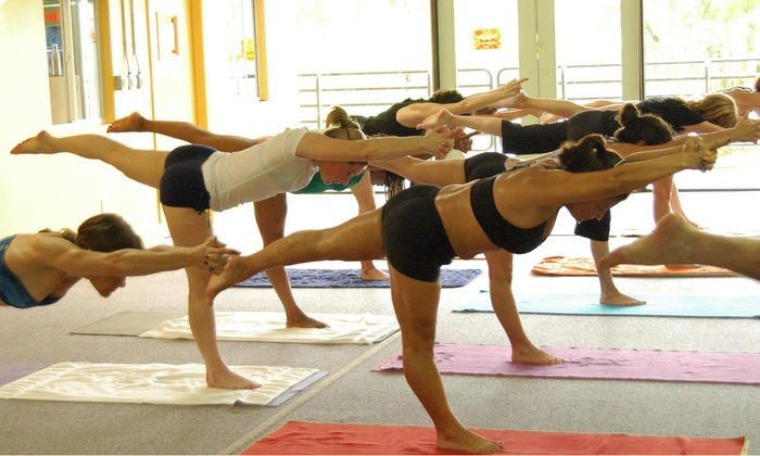 Bikram Yoga Boca Raton - Shops of Boca Grove: Five Classes, or One Month of Unlimited Classes, at Bikram Yoga Boca Raton (Up to 64% Off)