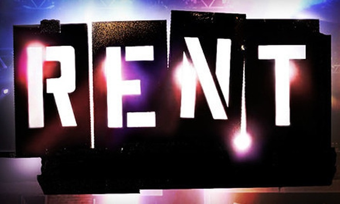 """""""RENT"""" - The Lower Ossington Theatre: """"RENT"""" Performance for Two at Lower Ossington Theatre (Half Off). Two Seating Options Available."""