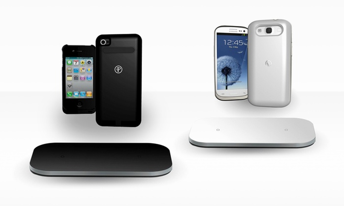 Duracell Powermat Wireless Charging Mat & Case for iPhone 4/4s or Galaxy S3: Duracell PowerMat Wireless Charging PowerMat with iPhone 4/4S or SamsungGalaxy S3 Case. Free Shipping and Returns.
